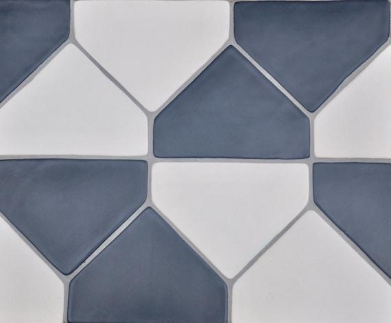 5x7 Handmade Hexagon Ceramic Tile Kitchen Backsplash 1 Sq Ft Etsy