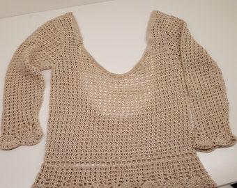 Top Handmade Crochet single piece