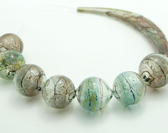 Blown Glass Beads