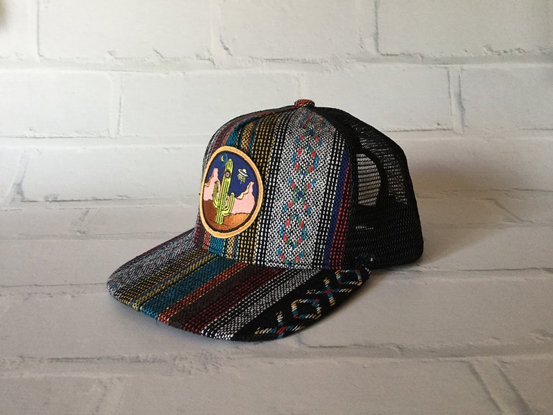 bf69a4fe8c42c Black   Multi Striped Aztec Adult Low Pro 5-panel Baseball