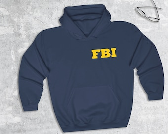 Halloween Costume Realistic Jacket- Customizable Federal Bureau of Investigation Adult and Youth FBI Field Agent Agent Jacket