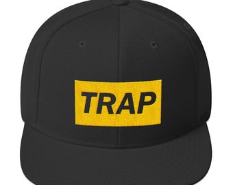 new styles 3e2fb d9946 Hip Hop Hats   Trap Music Snapback Hat