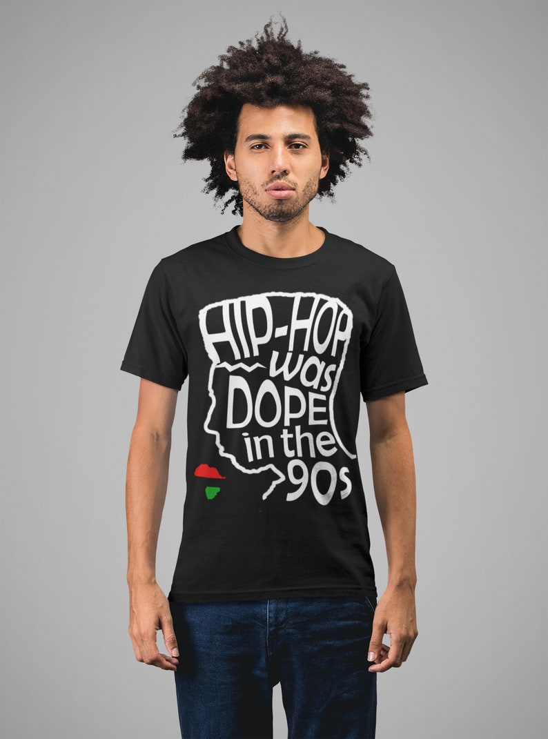 Hip Hop Shirts | HIP HOP Was DOPE In The 90s T-Shirt Classic Old School Rap  Music
