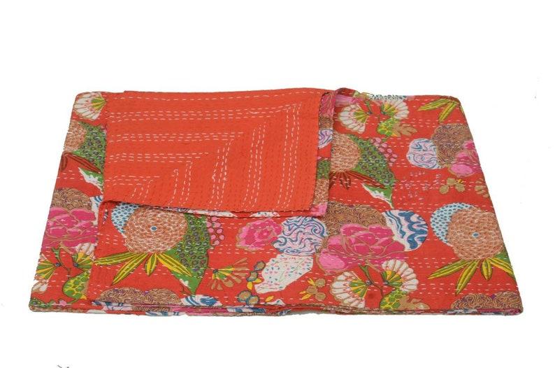 Kantha throw, Kantha bedding Kantha sofa cover Kantha quilt New Jaipur Indian Kantha bed cover