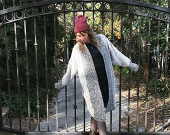 Knit Hat With Pom-Pom