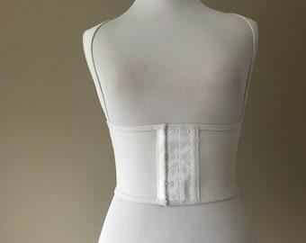 de417911461 Vintage Underbust Torsette Waist Shaper with Posture Support Shapewear by  Crownette