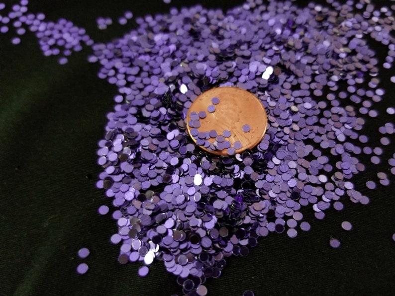 metallic solvent-resistant glitter shapes-purple dots--tumbler--nails