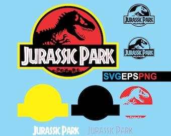 Jurassic Park Logo SVG EPS PNG Vector Printable