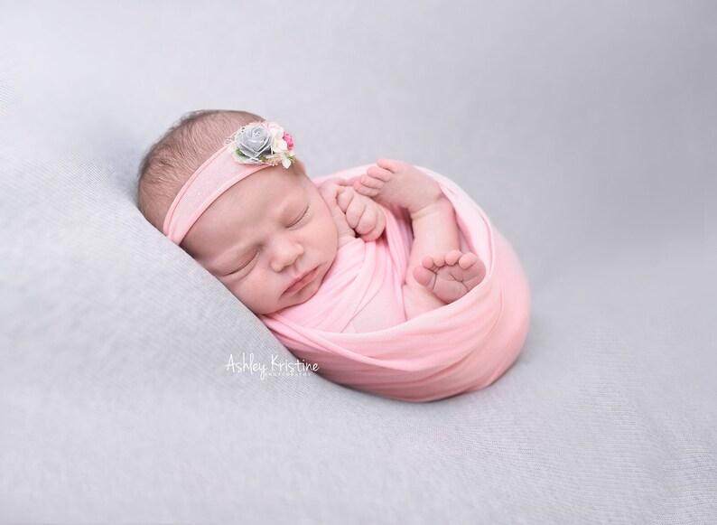 Newborn Jersey Knit Wraps Baby Photo Wrap Soft Stretchy Wraps RTS Pink Wrap Collection Newborn Photo Prop Stretch Knit Wraps