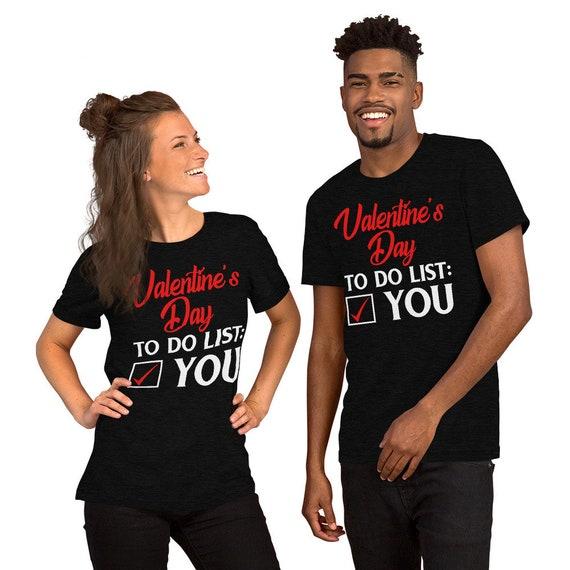 Saint Valentin pour vous faire sexuelles la liste des allusions sexuelles  faire drôle manches courtes T ... e8193e3bea0