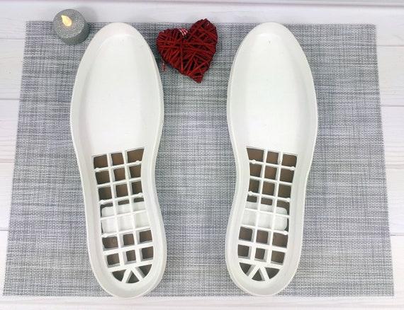 Große Sohlen Schuhe Outdoor Baumwollsolage Genähte Weiße Schuhsohlen Mens Häkelstiefel Ledersohlen Größe Stiefel Für Felted WbEYeD29IH