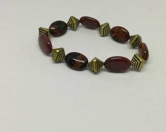 Brown Jasper bracelet