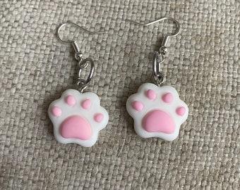 Cat jewelry, cats, cat, jewelry, cat jewelry, animals, rescue mom gift, rescue mom, cat lovers, kittens, dog lover gift, enamel earrings