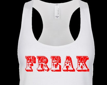 circus freak womens tank top