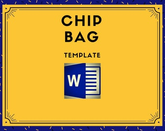 CHIP BAG - MS Word