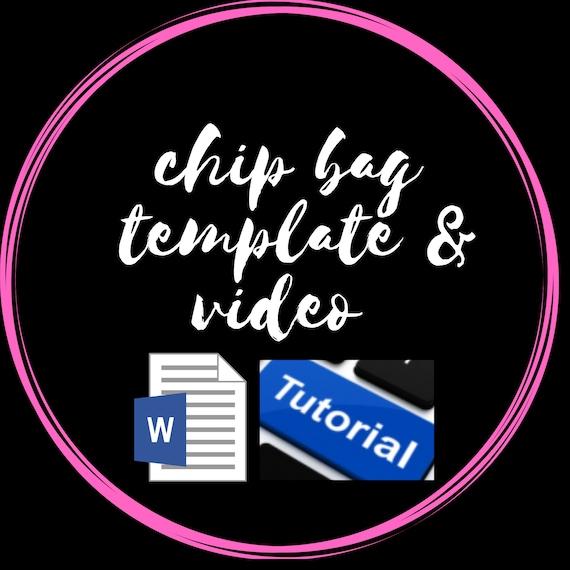 CHIP BAG tutorial - MS Word