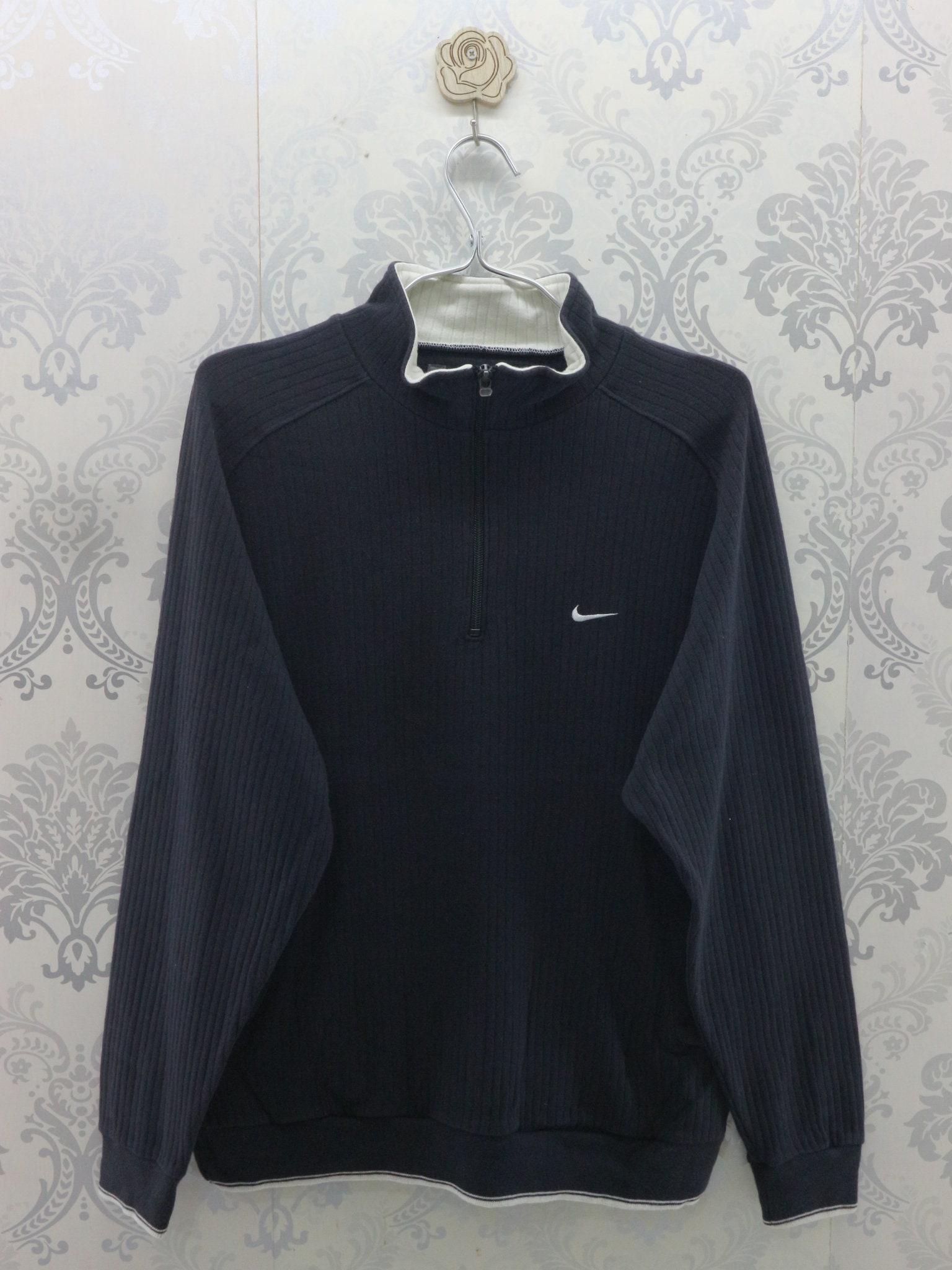 3cc978e950ebd Vintage Nike Sweatshirt Embroidery Logo Streetwear Sportswear Pullover Nike  Golf Sweater Size M