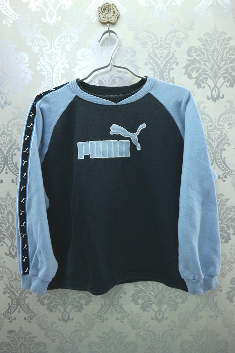 81ebeae07e1 Vintage Puma Sweatshirt Embroidery Big Logo Left And Right | Etsy