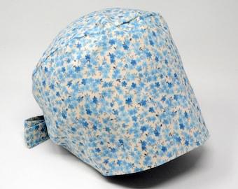 Scrub cap/ Surgical cap - CHARLOTTE - Floral Pixie for Women - Preshrunk Cotton - Mimi Scrub Hats