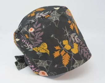 Scrub cap/ Surgical cap - Enchanted - Halloween Pixie - Preshrunk Cotton - Mimi Scrub Hats