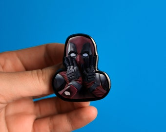 Deadpool Pin Deadpool Brooch Ryan Reynolds comic con
