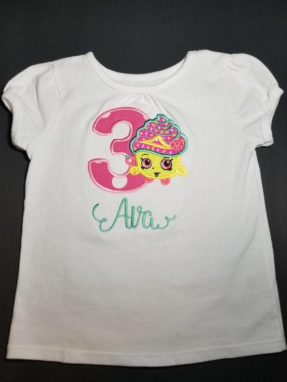 Party shirt for Shopkin Personalized Shopkin Birthday shirt