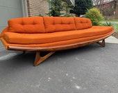 Mid Century Modern Adrian Pearsall Gondola Sofa for Craft Associates