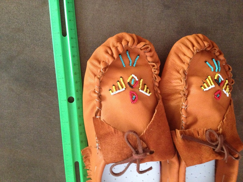Handmade scout style Moccasins