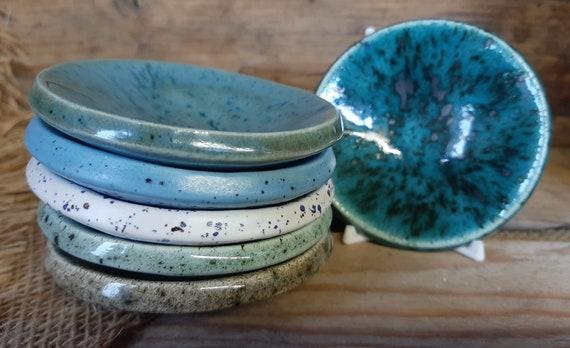 Circular Colourful Trinket Dish - Beach Range