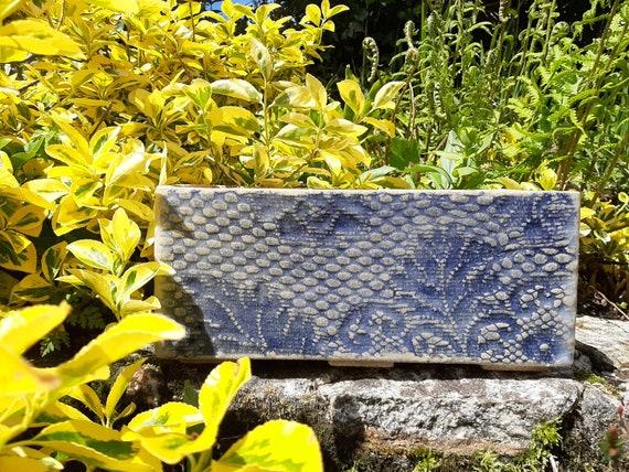 Blue Lace Garden Trough