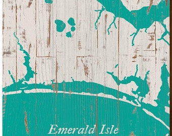 EMERALD ISLE N Carolina Original New Travel Poster Marilyn Pin Up Art Print 172