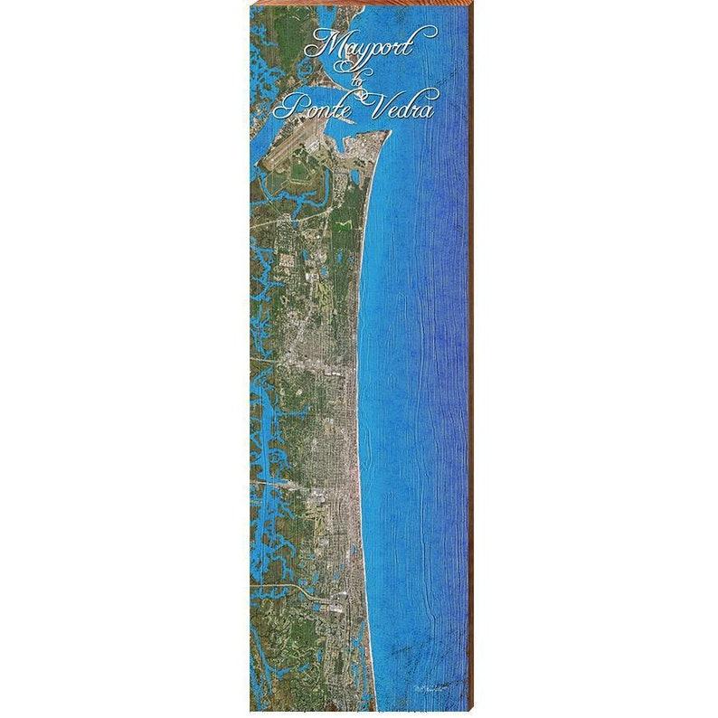 Mayport to Ponte Verda Map