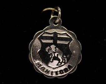 JEWELRY LIQUIDATION SALE Sterling Silver Manitoba Emblem Pendant/Charm