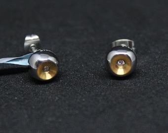 JEWELRY LIQUIDATION SALE - Women's Stainless Steel Stud Earrings