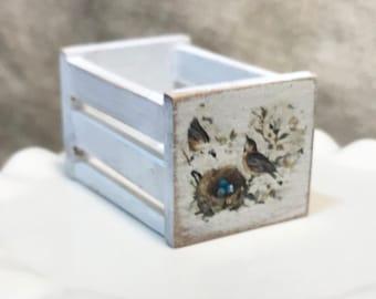 1:12 Scale, Handmade Vintage Crate