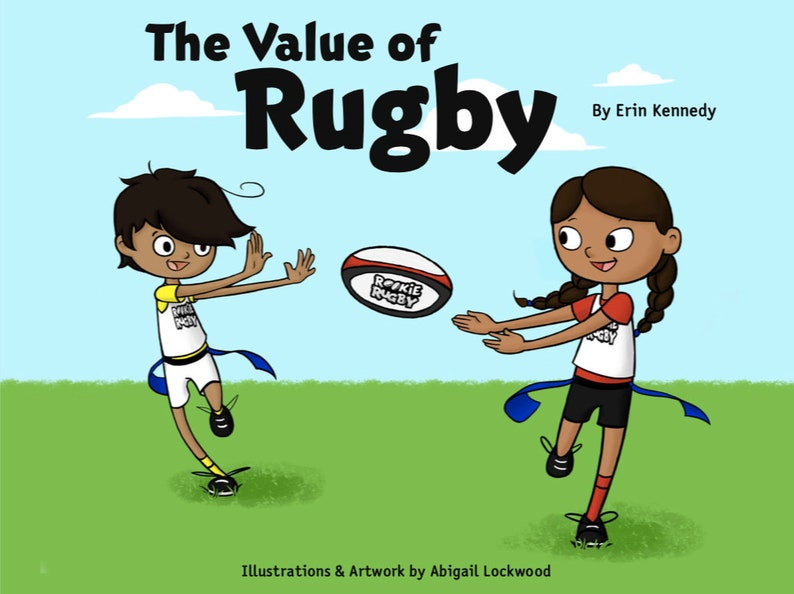 The Value of Rugby Children's Book image 0