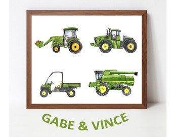 Media Ford Tractor Poster 1932-1986
