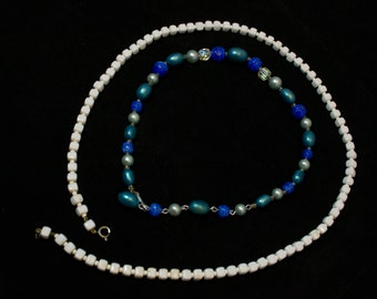 Vintage Costume Jewelry - Two Necklaces