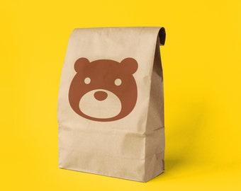 Animal Crossing Paper Gift Bag x 5