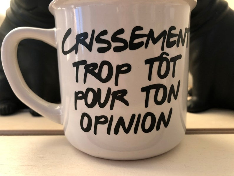a89f726e699f3 Save by buying two cups of your choice! Two cups, humorous, french/Quebec