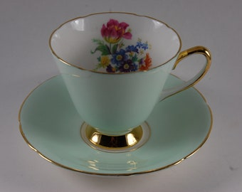 Old Royal Tea Cup and Saucer