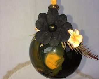 Ornament Glass Halloween  ball