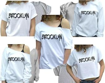 bb4ef0682 Brooklyn Shirt new york t-Shirt Womens nyc tShirt new york city t shirt for  Women Unisex plus sizes and kids too!