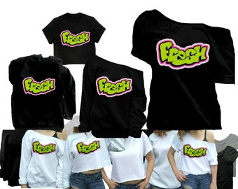 90 s Shirt Hip hop Shirts 90s clothing throwback T Shirt 1990s T-Shirt Crop  top vintage tee black gray Small Medium Large XL Plus Size 90s 7aefc3a95
