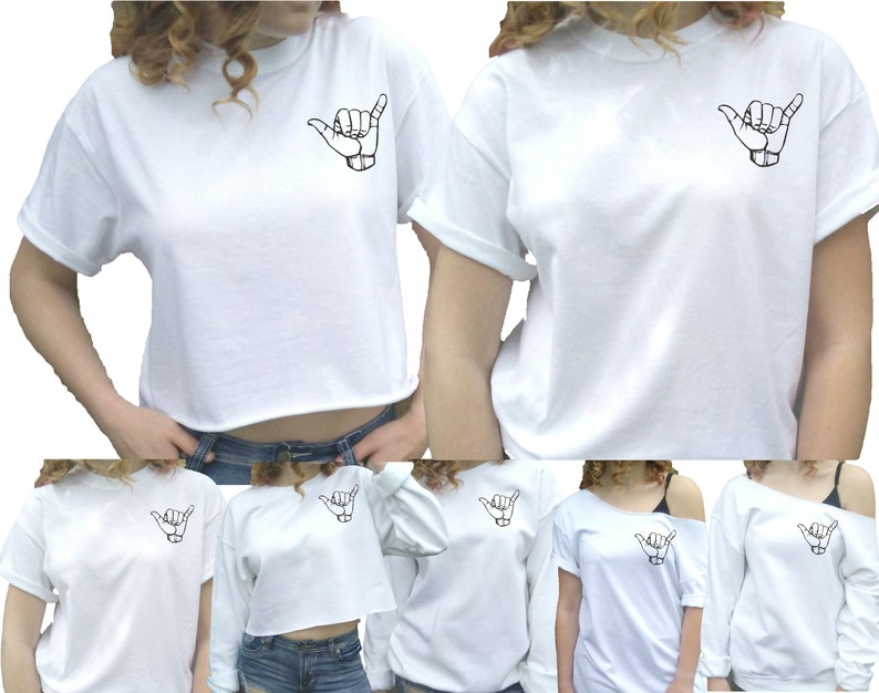 902ba3b5 Shaka hang loose hawaii shaka shirt surf shaka sign | Etsy