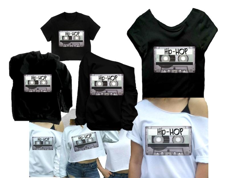 c3aeadc97 90s hip hop shirt Mixtape Crop top 90s tshirt Old school   Etsy