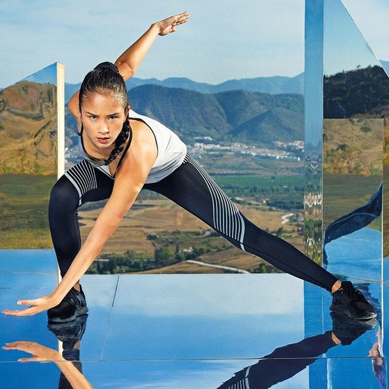 Einhorn Polizistin Women/'s Performance Reflective Leggings