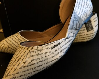 Custom Harry Potter Flats