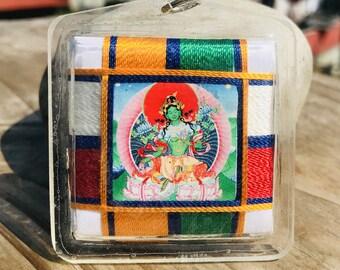 Green Tara Deity Amulet Sungor Butti Nepal