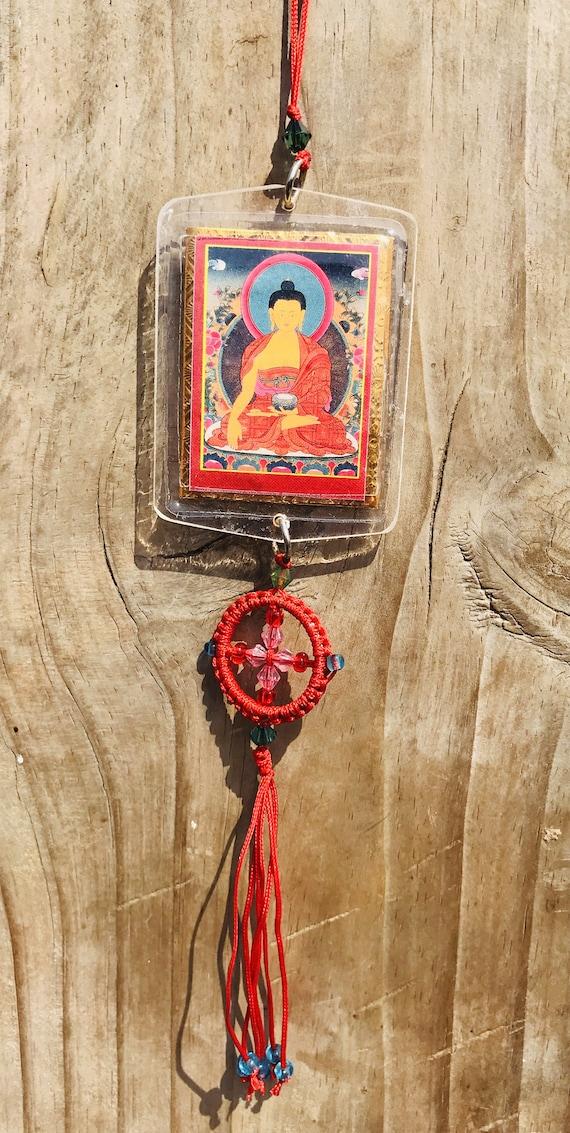 Dalai Lama Shakyamuni tibetan buddhism protector Nepal amulet //protector